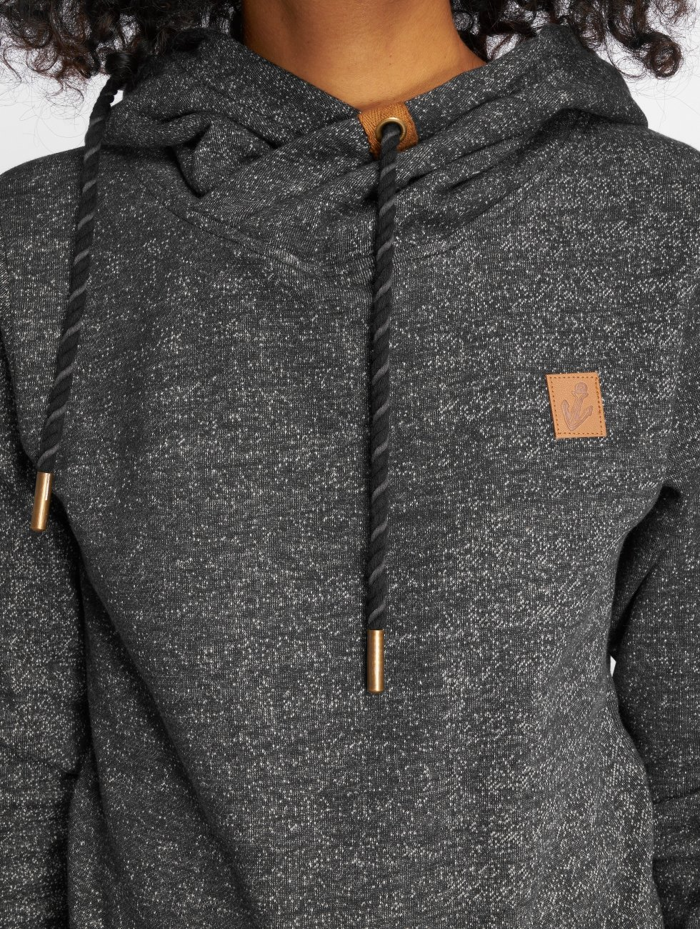 Platinum Anchor Sweat capuche Anchor Manuka gris