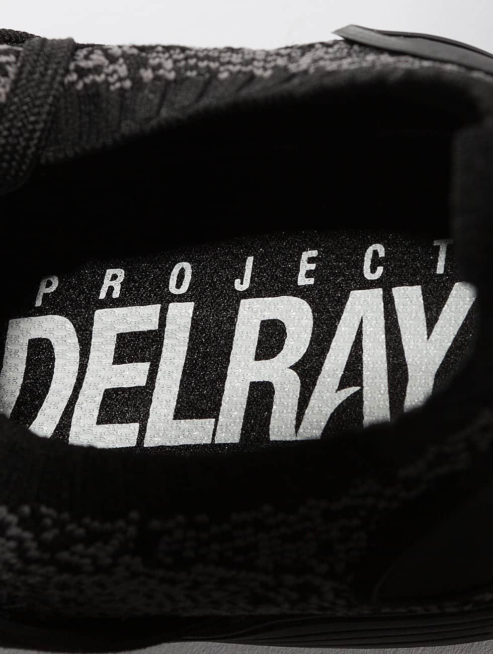Project Delray Sneaker Wavey schwarz
