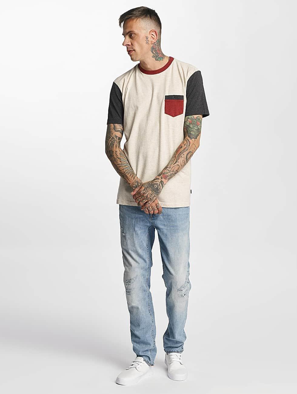 Quiksilver T-Shirt Baysic Pocket beige