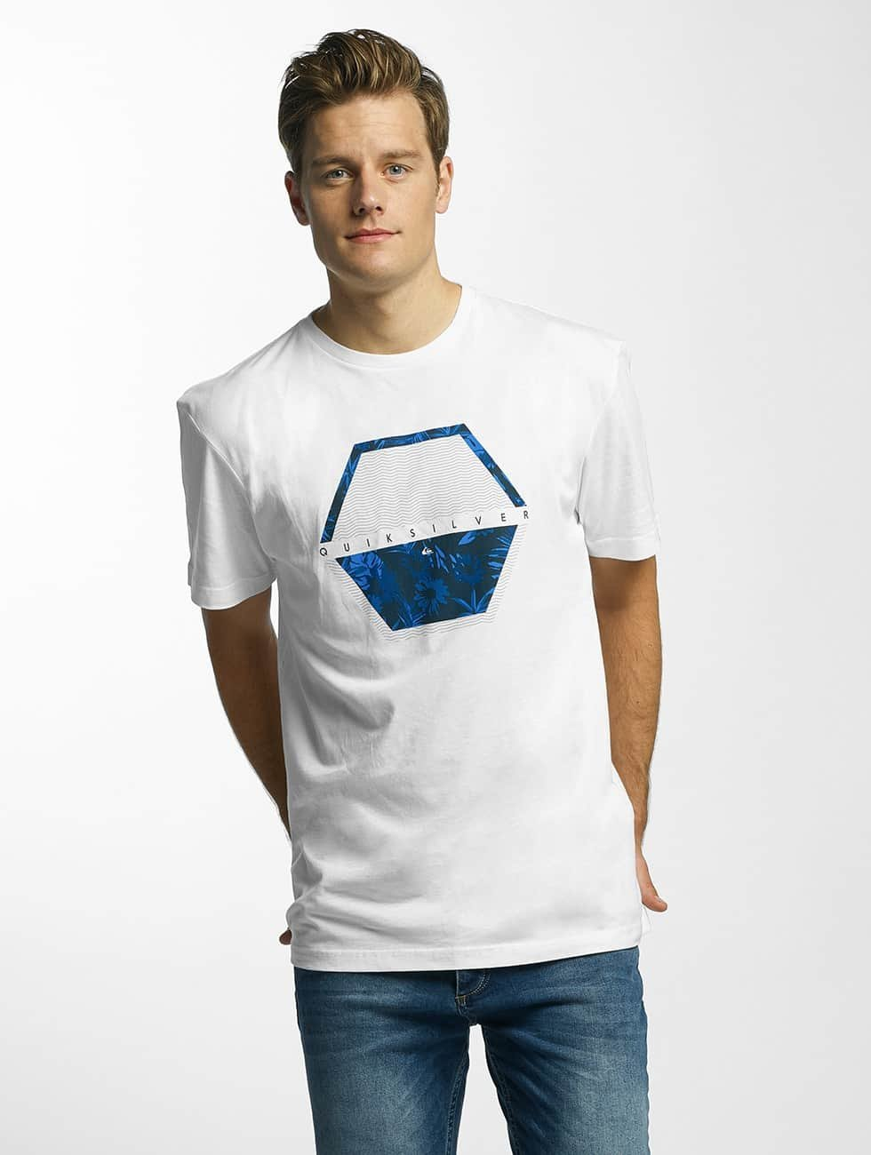 Quiksilver T-shirt Classic Comfort Place bianco