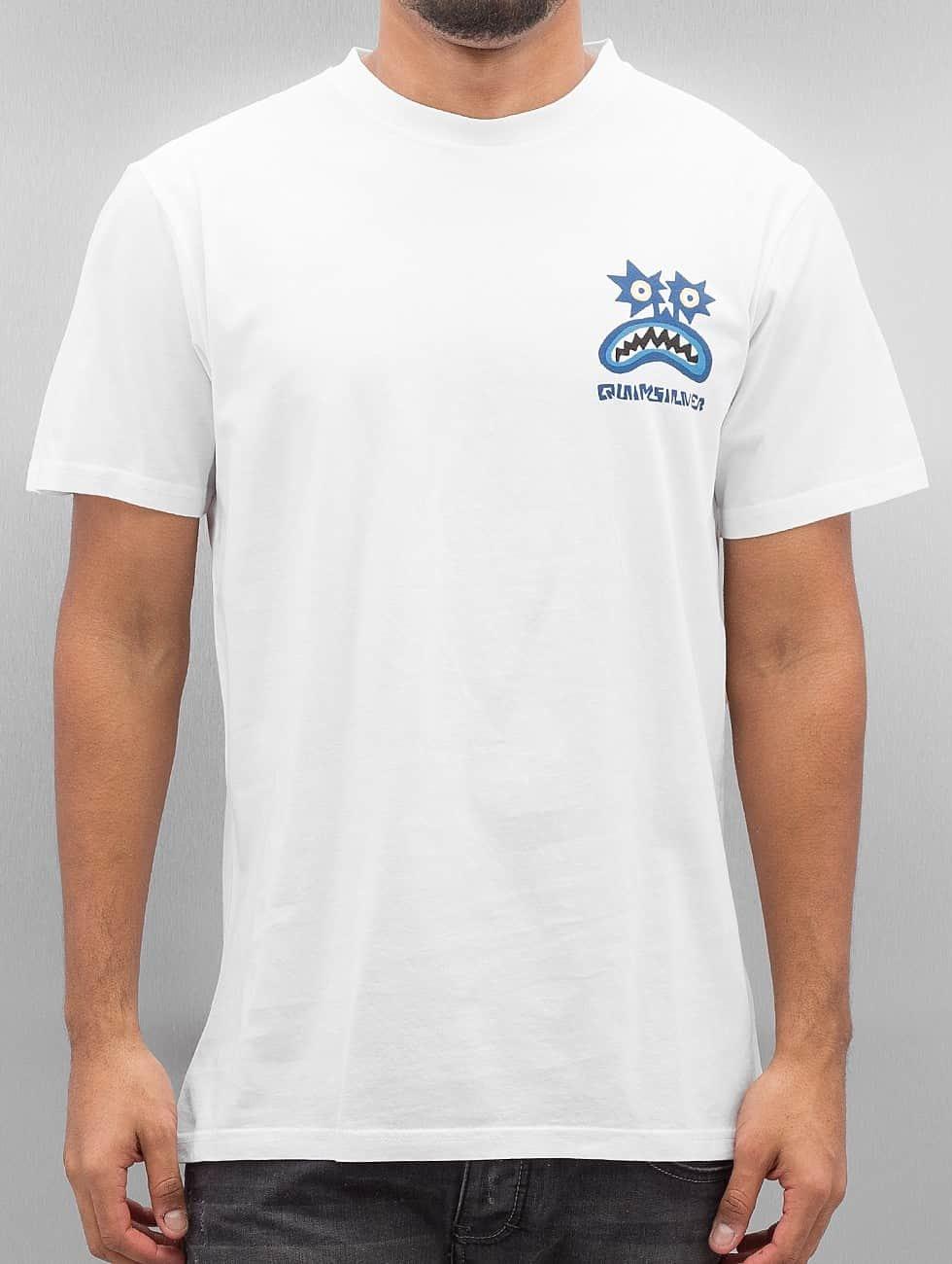 Quiksilver T-Shirt Boogey Mansst white