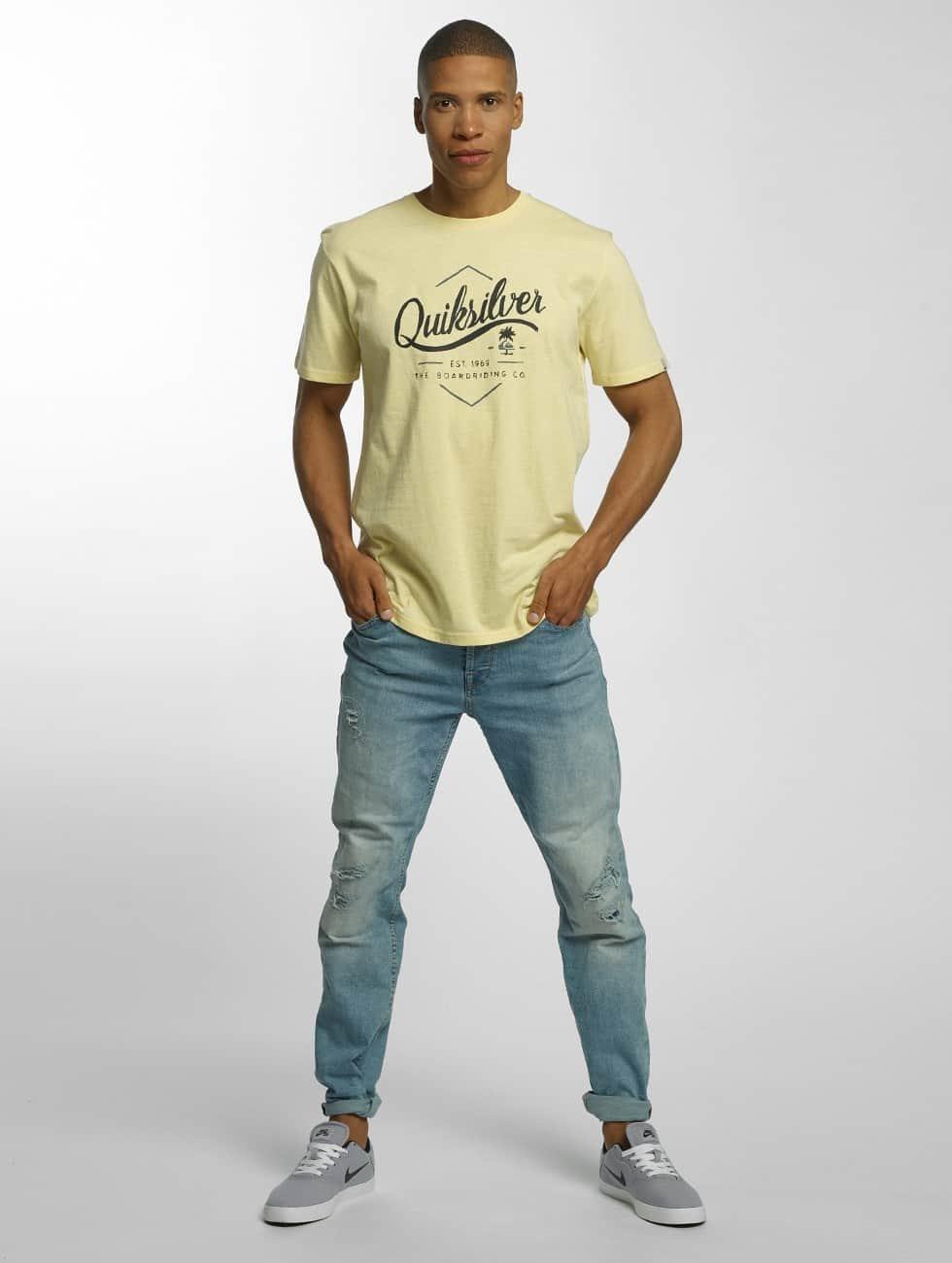 Quiksilver T-skjorter Classic Sea Tales gul