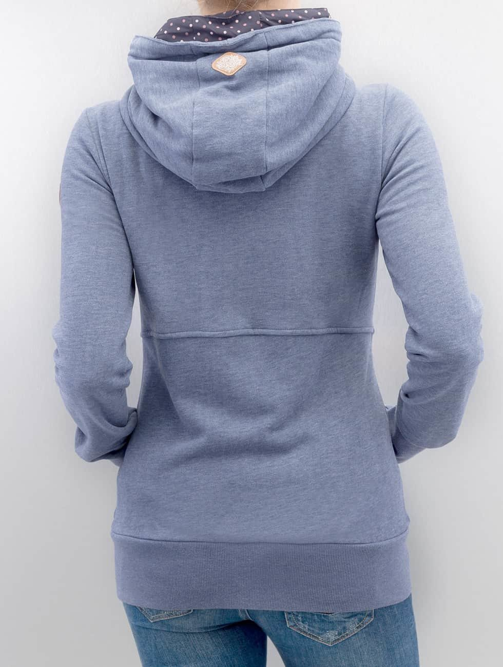Ragwear Zip Hoodie Belicia modrá