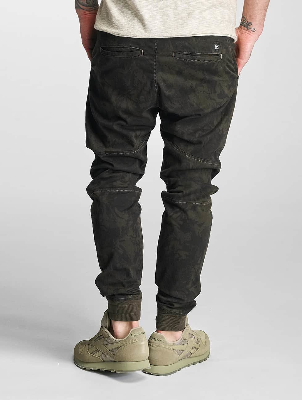 Red Bridge Joggebukser Spassk khaki