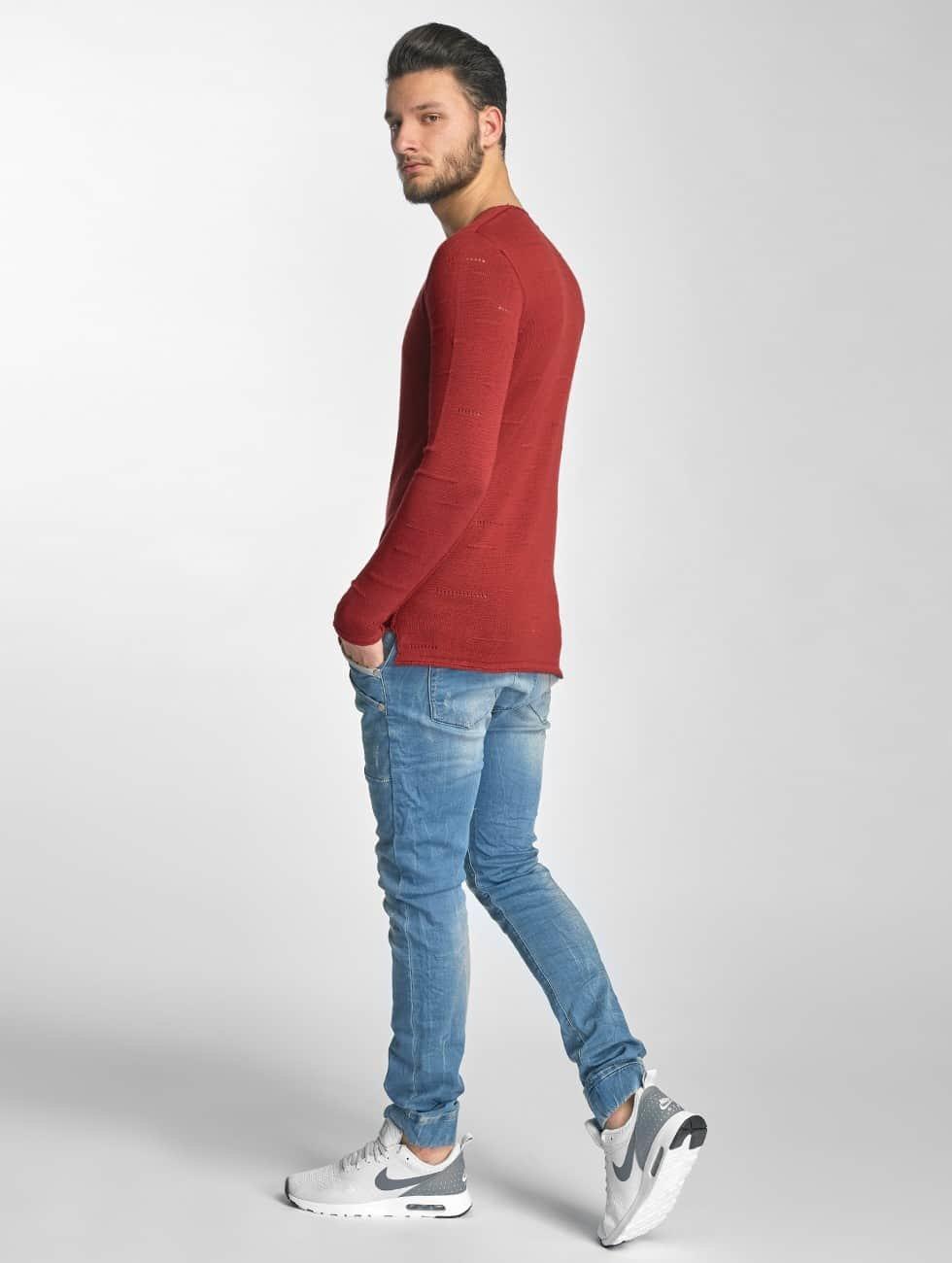 Red Bridge Jumper Knit red