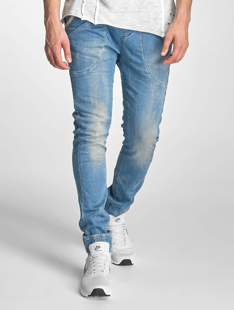 Red Bridge Slim Fit Jeans Performence blauw