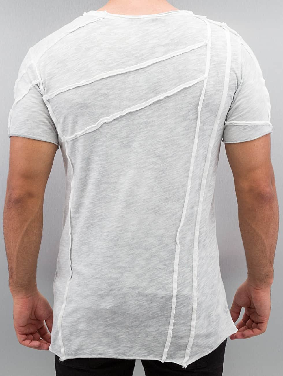 Red Bridge T-Shirt Patchwork grau