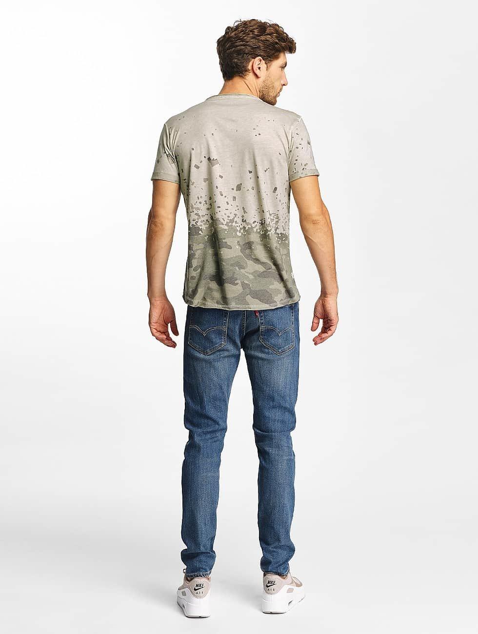 Red Bridge t-shirt Stay Up grijs