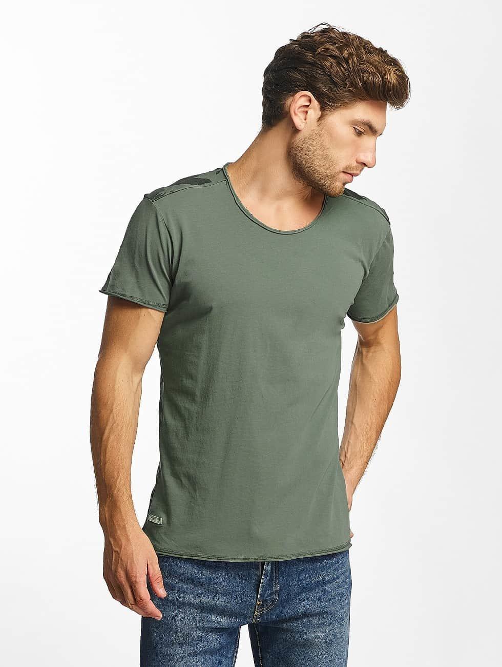 Red Bridge T-Shirt Backing You Up kaki