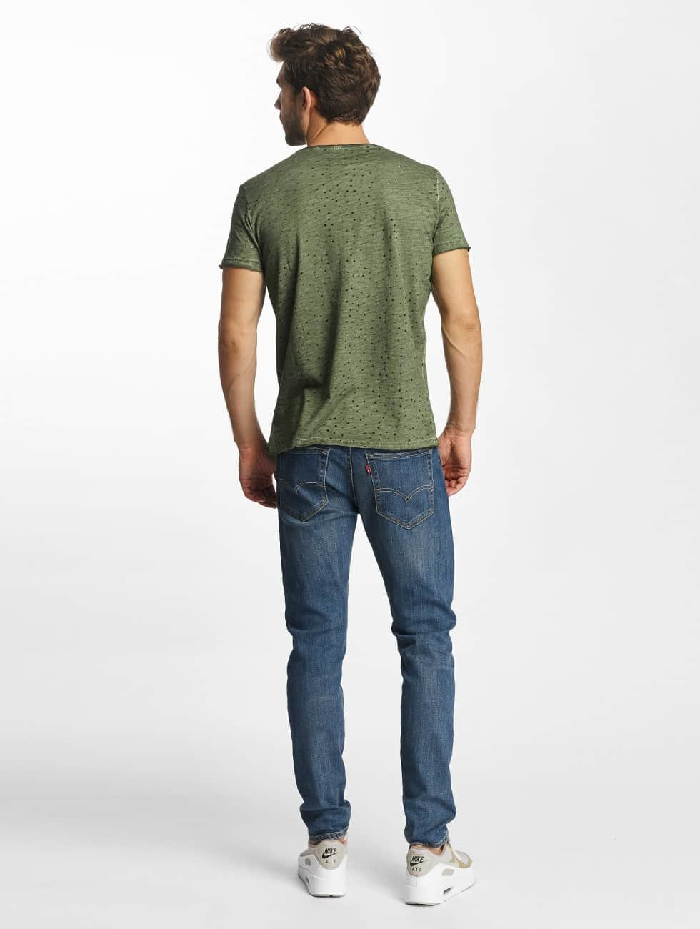 Red Bridge t-shirt Airy Function khaki