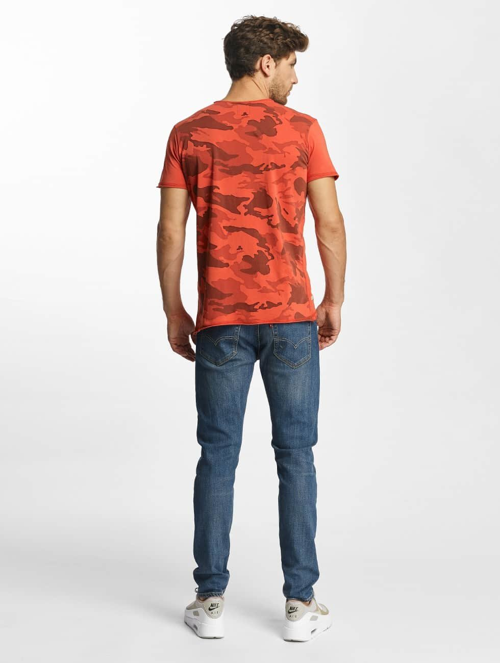 Red Bridge T-shirt Backing You Up rosso