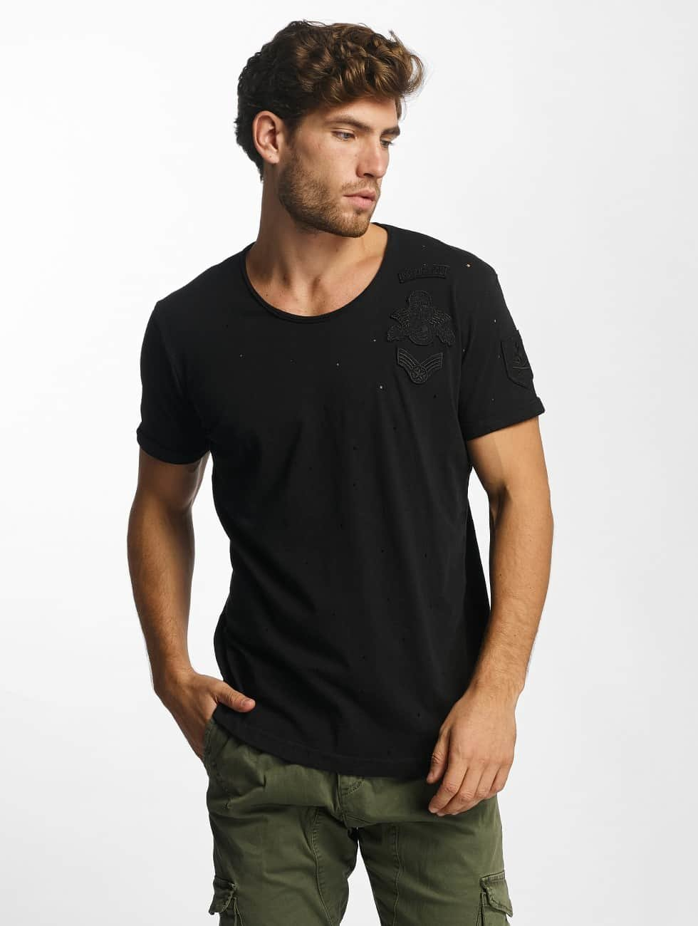 Red Bridge T-Shirt Bullet Holes schwarz