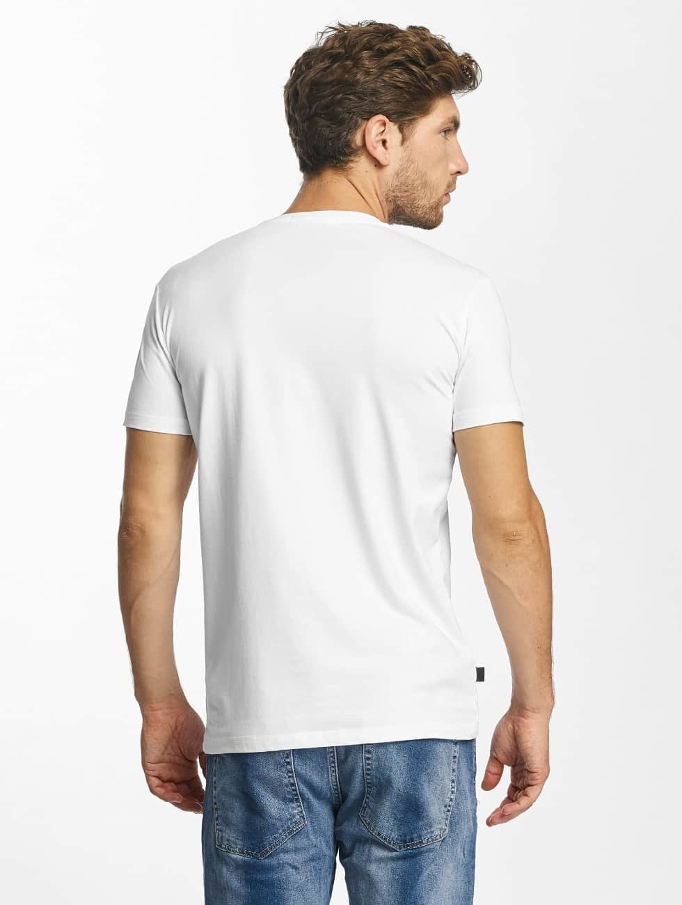 Red Bridge T-Shirt MCMXCIII Modern Characters white