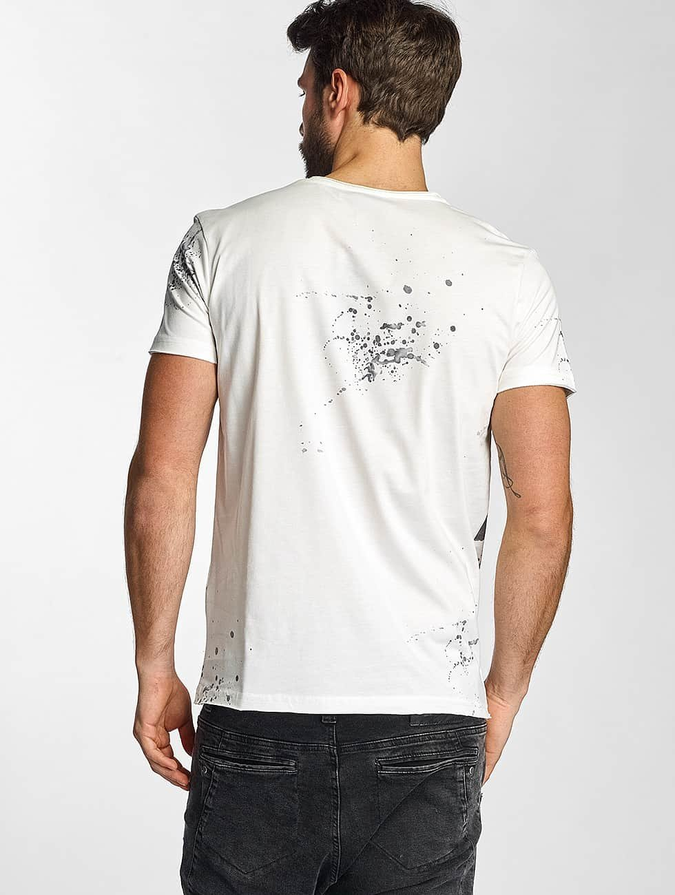 Red Bridge T-Shirty Birds bialy