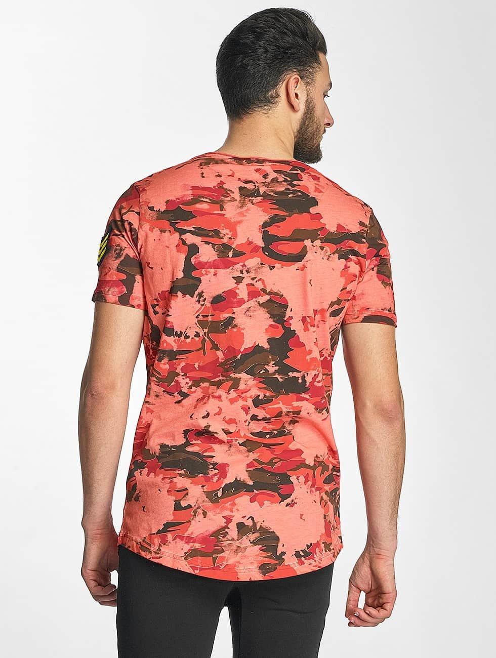 Red Bridge T-Shirty Combat czerwony