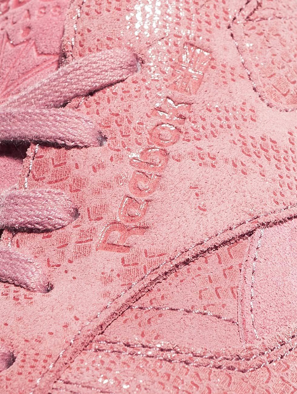 Reebok Sneaker Classic Leather Clean Exotics rosa