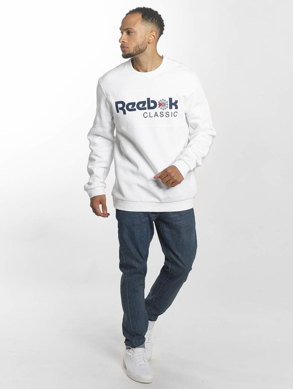 Reebok Swetry Iconic bialy