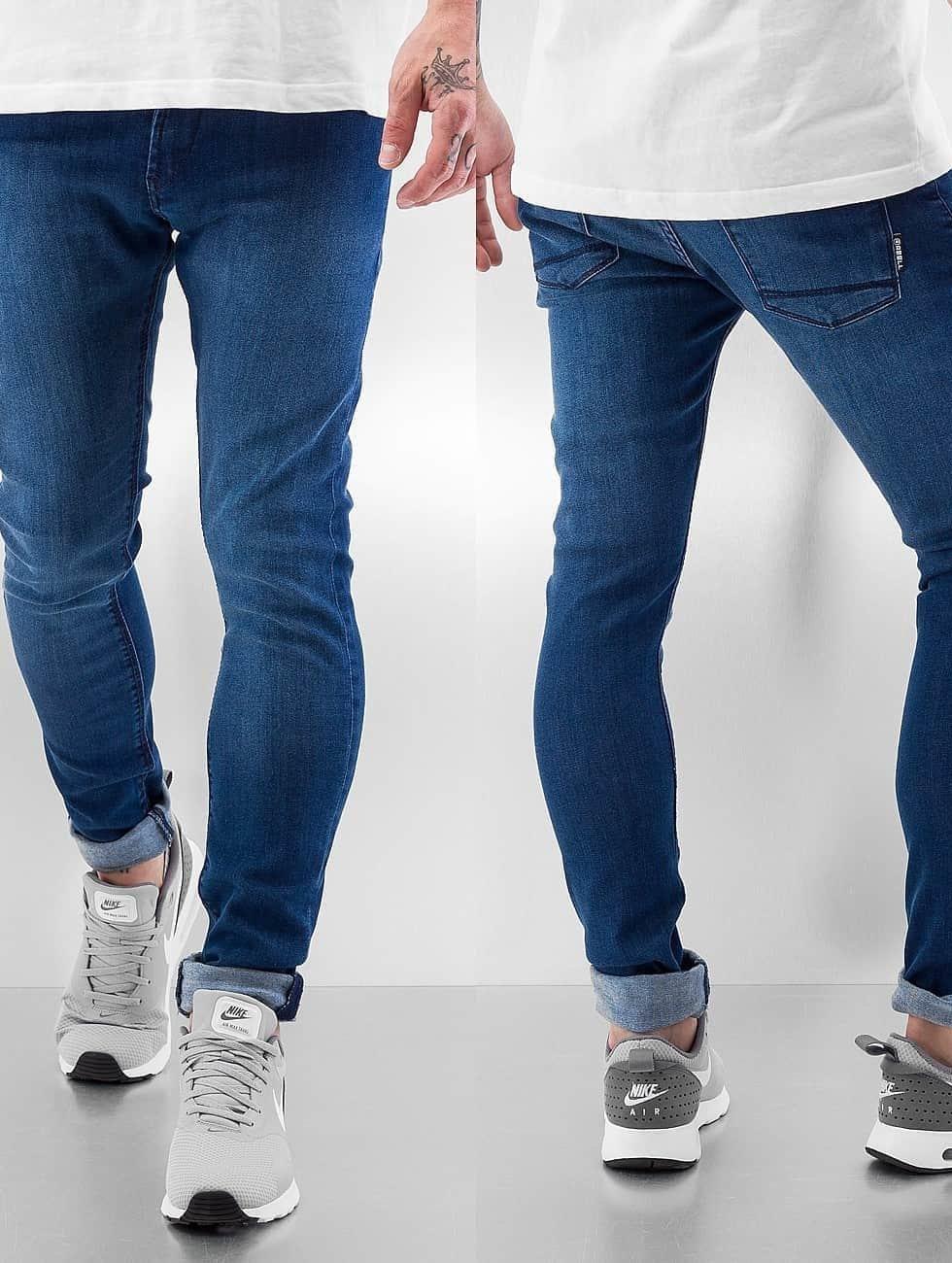 Reell Jeans Облегающие джинсы Radar Stretch Super Slim Fit синий