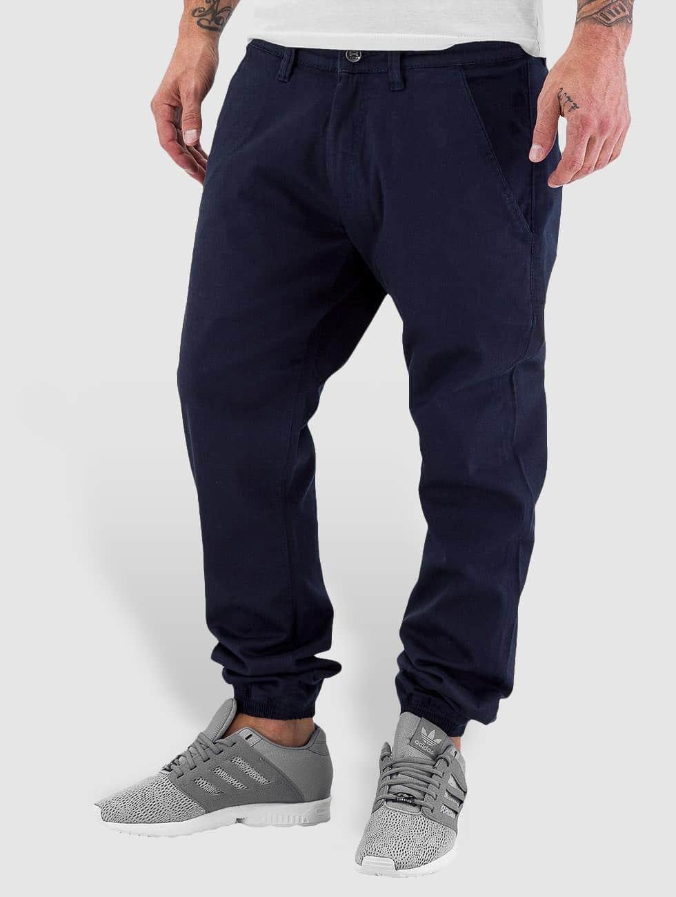 Reell Jeans Chinot/Kangashousut Jogger sininen