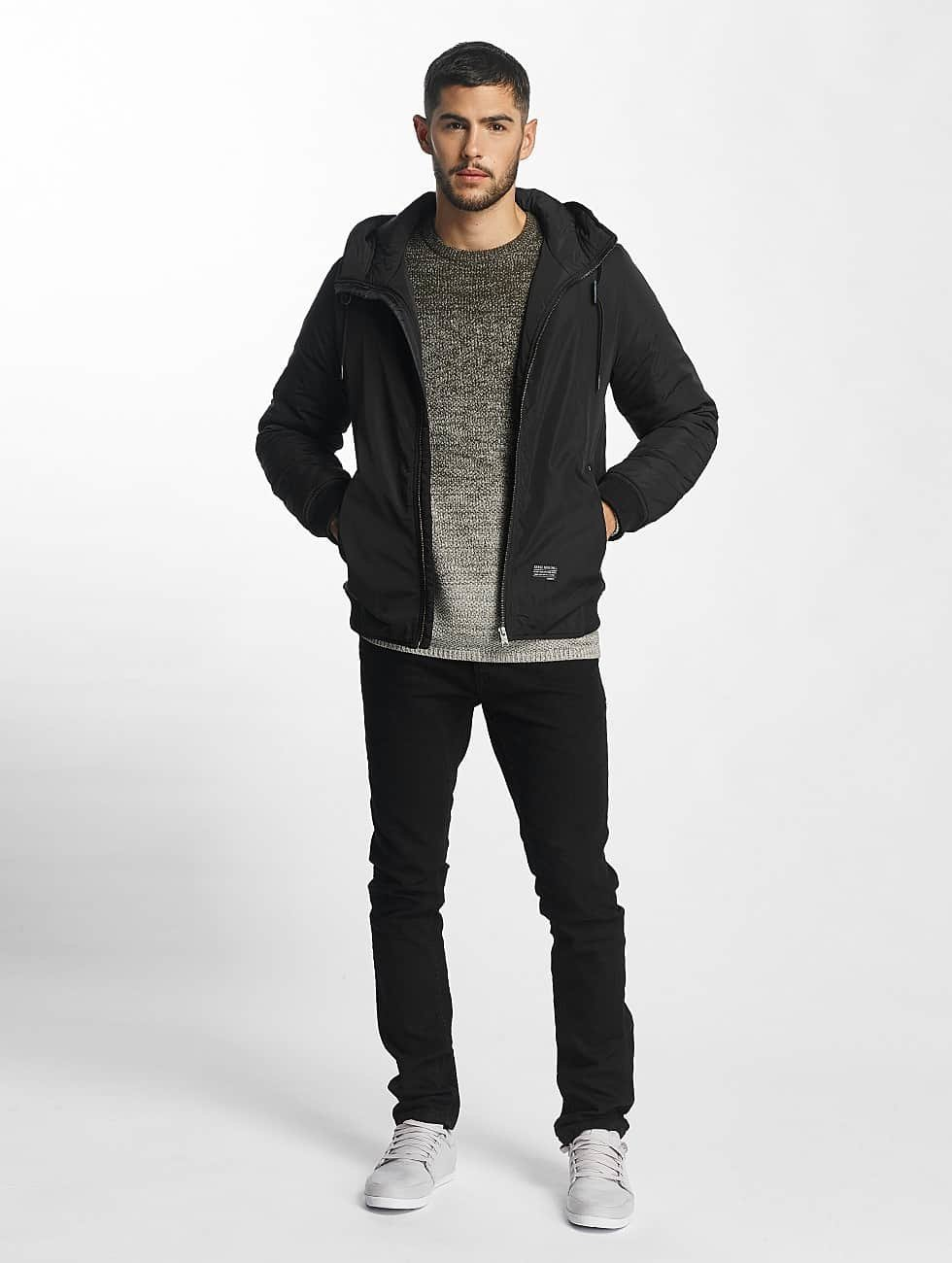 SHINE Original Bomber Hooded noir
