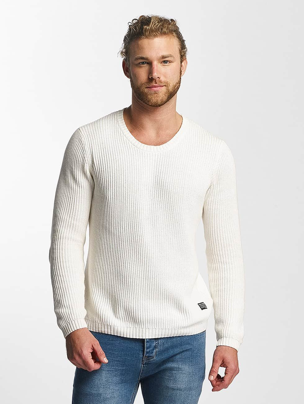 SHINE Original Sweat & Pull O-Neck Knit blanc