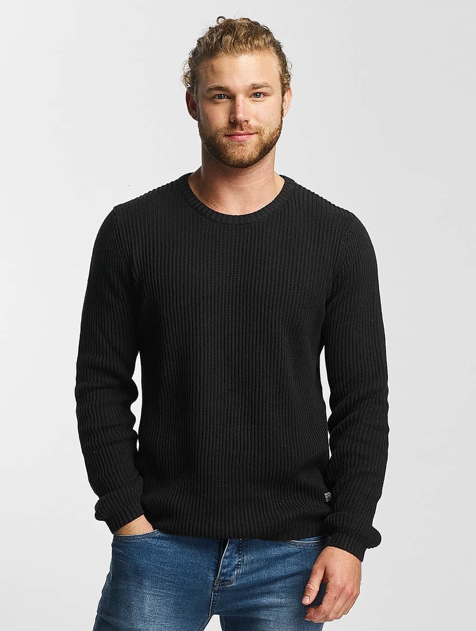 SHINE Original Sweat & Pull O-Neck Knit noir