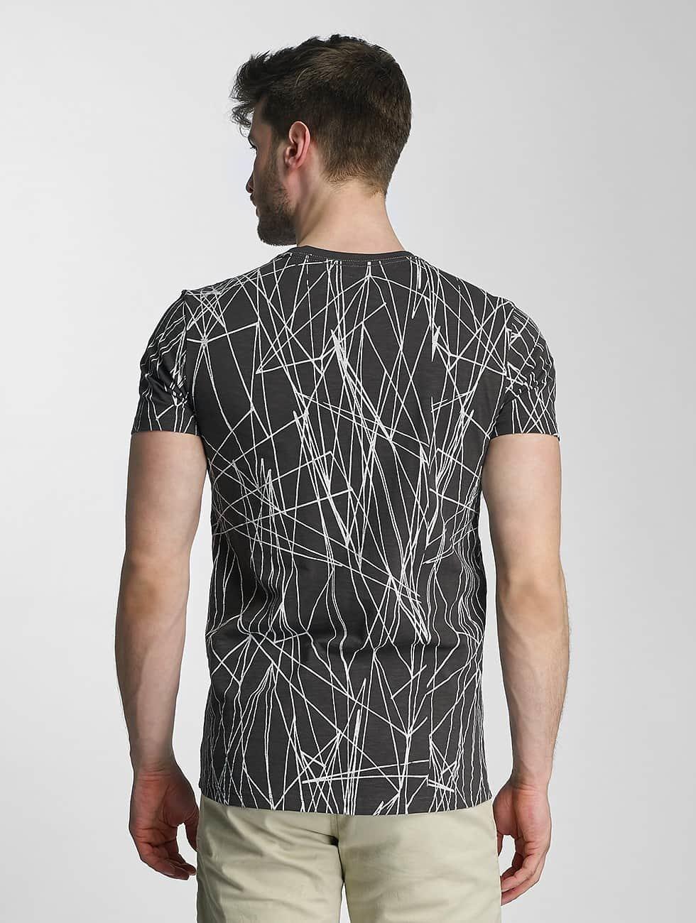 SHINE Original T-Shirt Long Oversize Jarrod schwarz