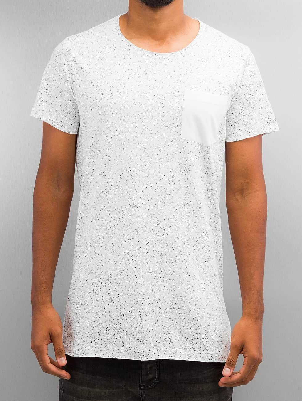 SHINE Original T-Shirty All Over bialy