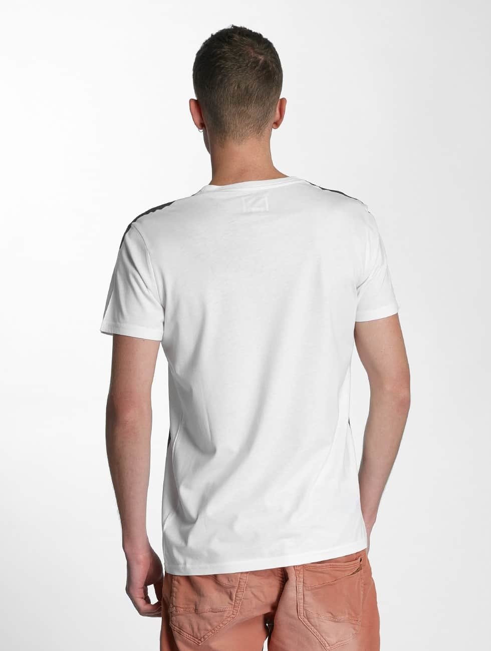 SHINE Original T-Shirty Print Oversize bialy