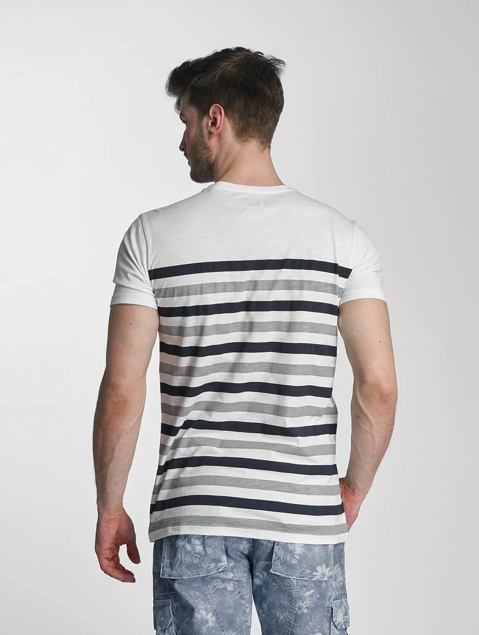 SHINE Original T-Shirty Striped szary