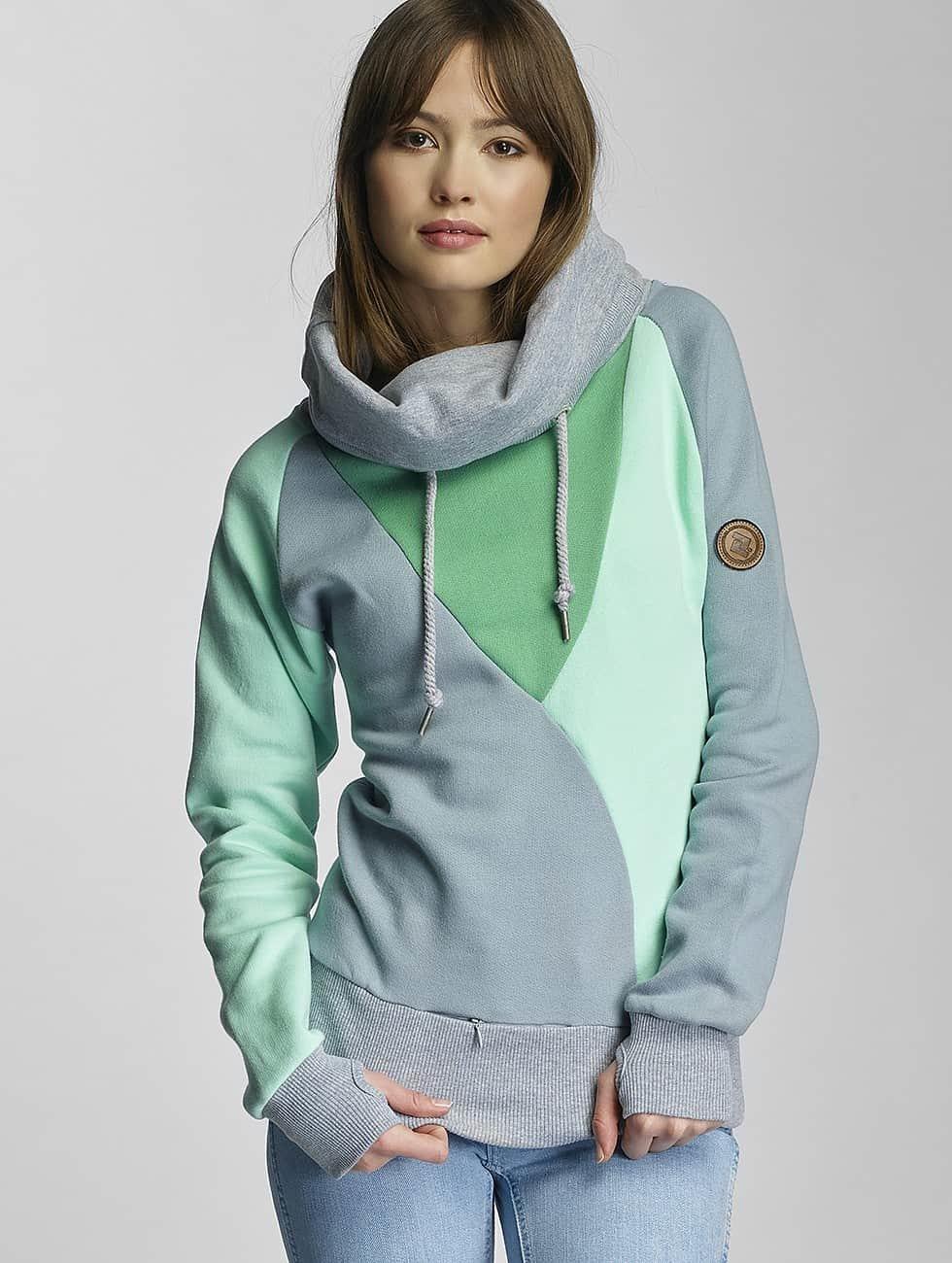 Shisha  Bluzy z kapturem Düün zielony