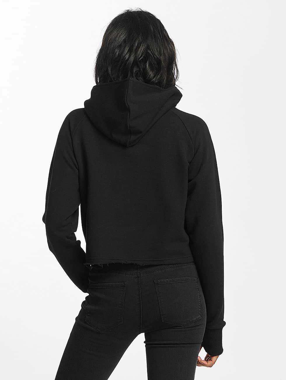 Shisha  Sudadera Cropped negro