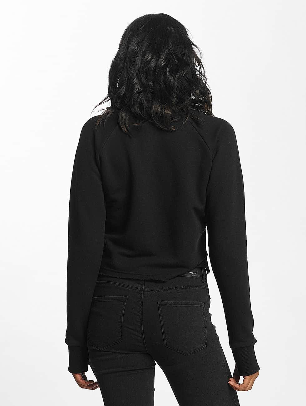 Shisha  Sweat & Pull Cropped noir