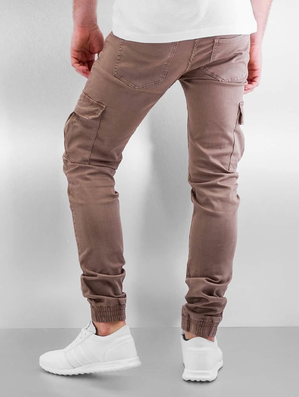 Sixth June Облегающие джинсы Cargo бежевый