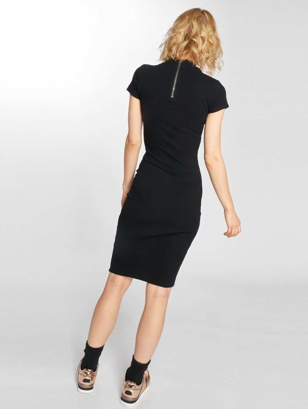 Sixth June Dress Destroyed Mid-Length black