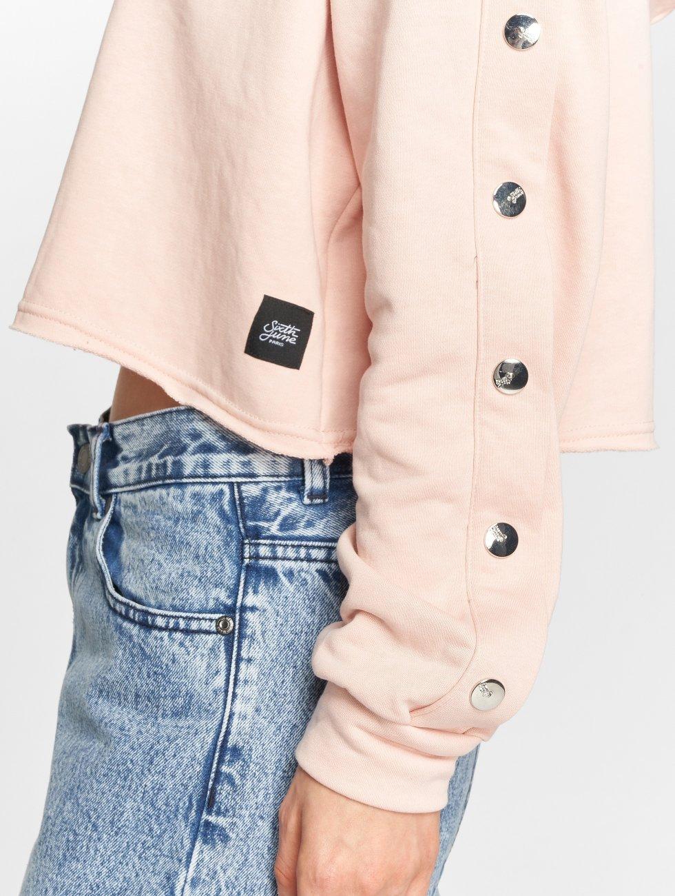 Sixth June Hettegensre Button rosa