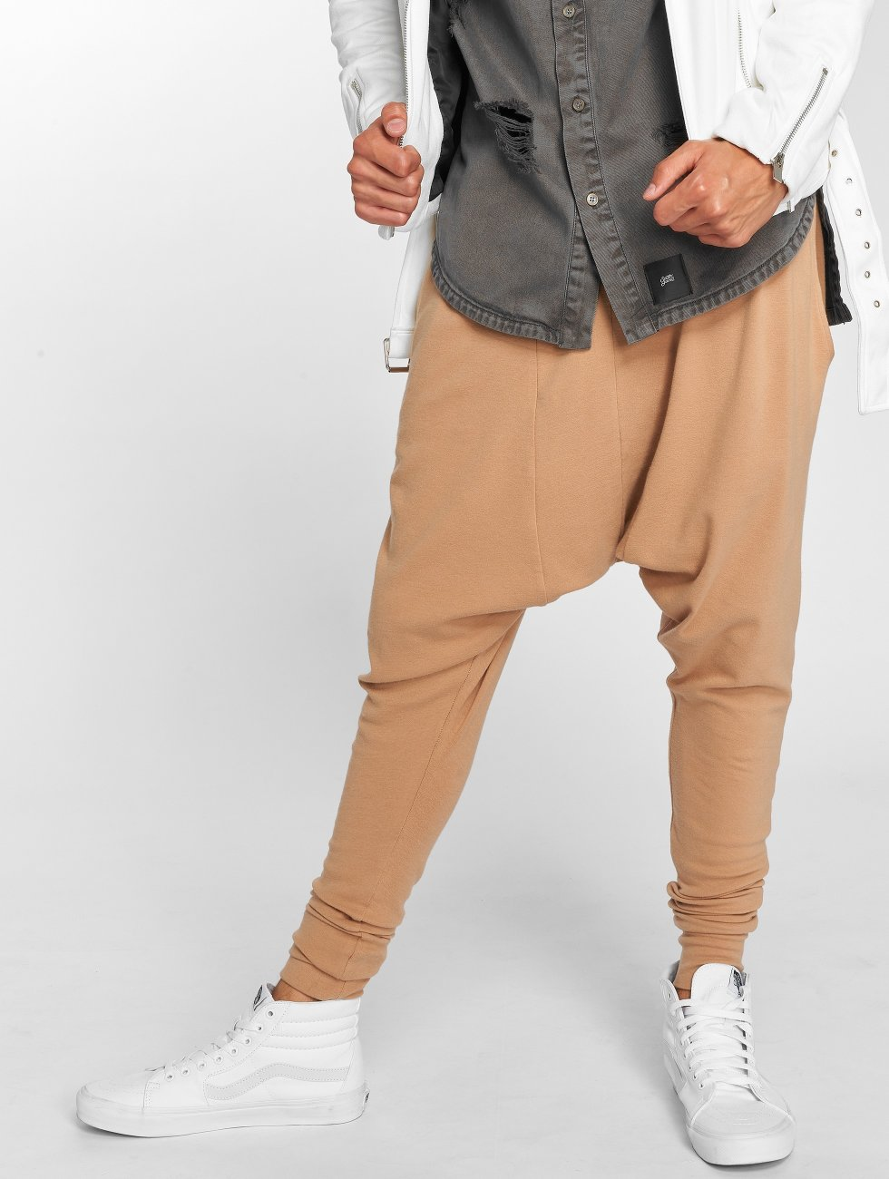 Sixth June joggingbroek Sarouel beige