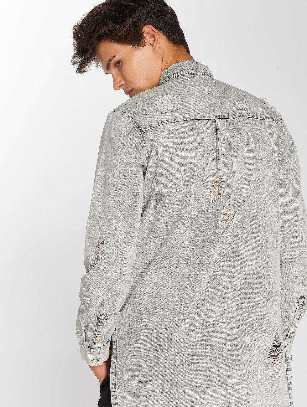 Sixth June Shirt Destroyed gray