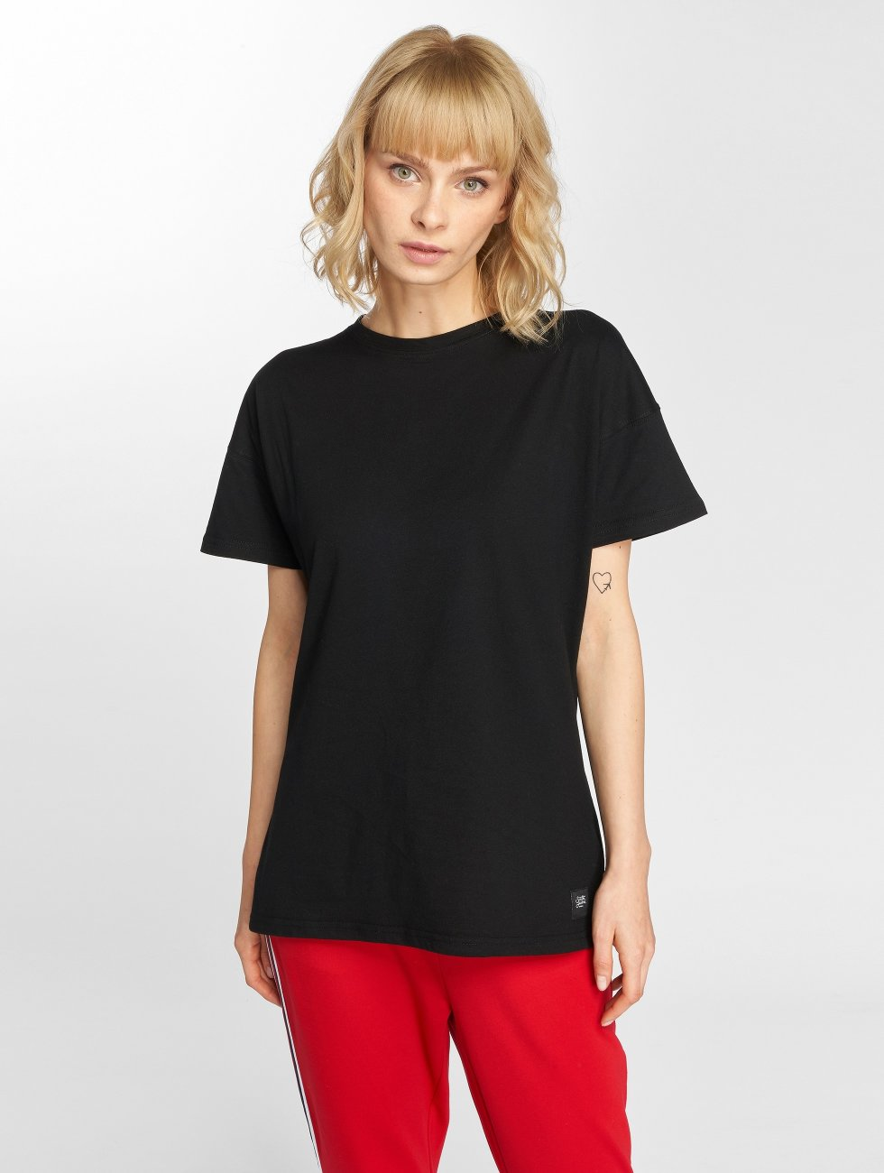 Sixth June T-shirt Classic Oversize nero