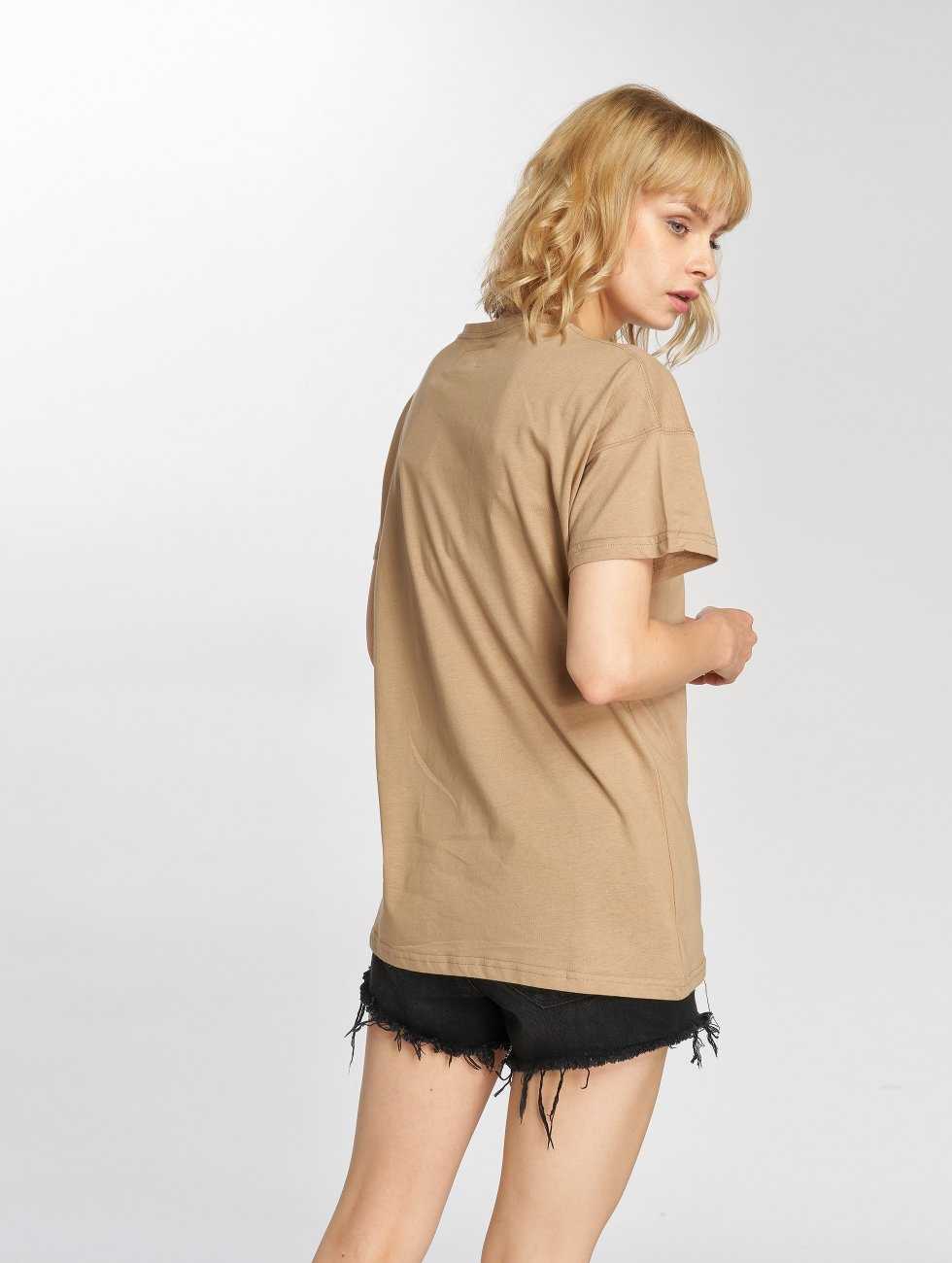 Sixth June T-skjorter Classic Oversize beige