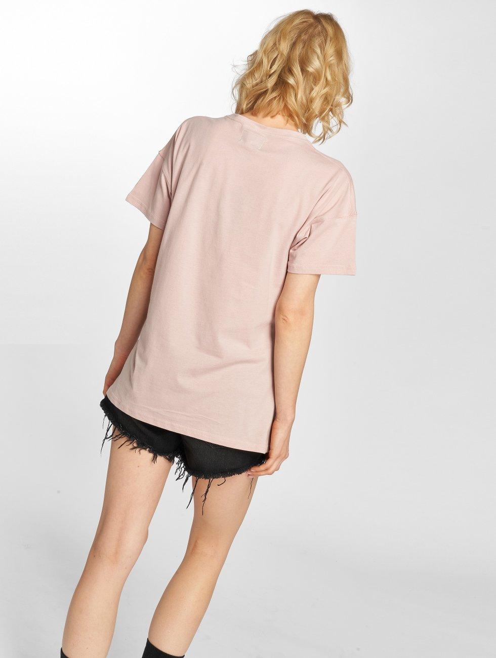 Sixth June T-skjorter Classic Oversize rosa