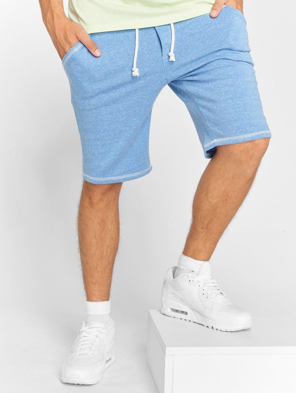 Solid Pantalón cortos Olsen azul