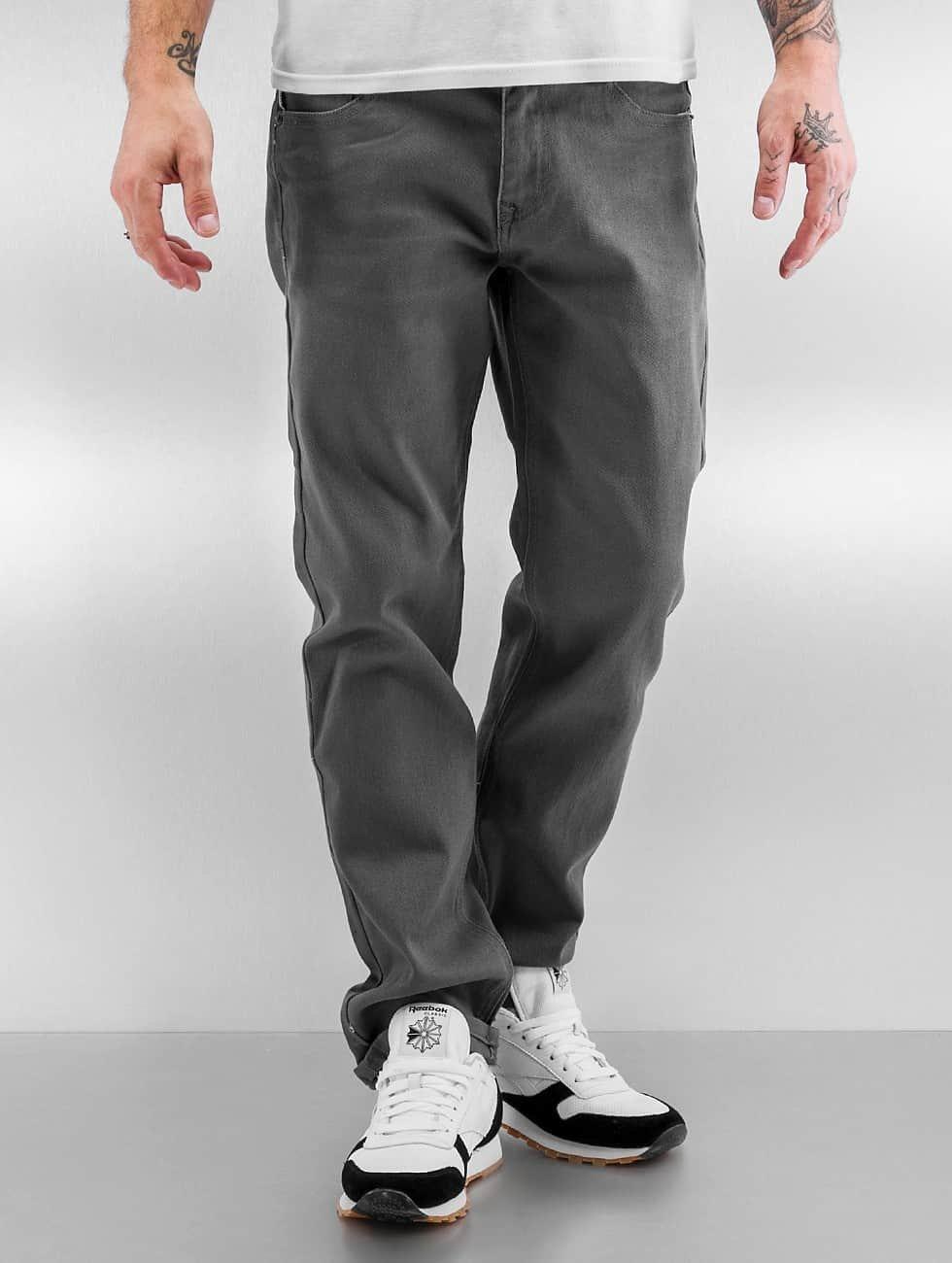 Southpole Straight fit jeans Vernon grijs