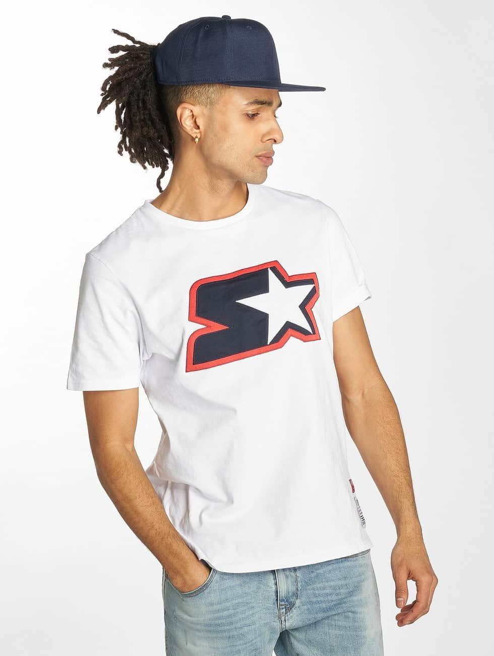 Starter T-shirt Carson bianco