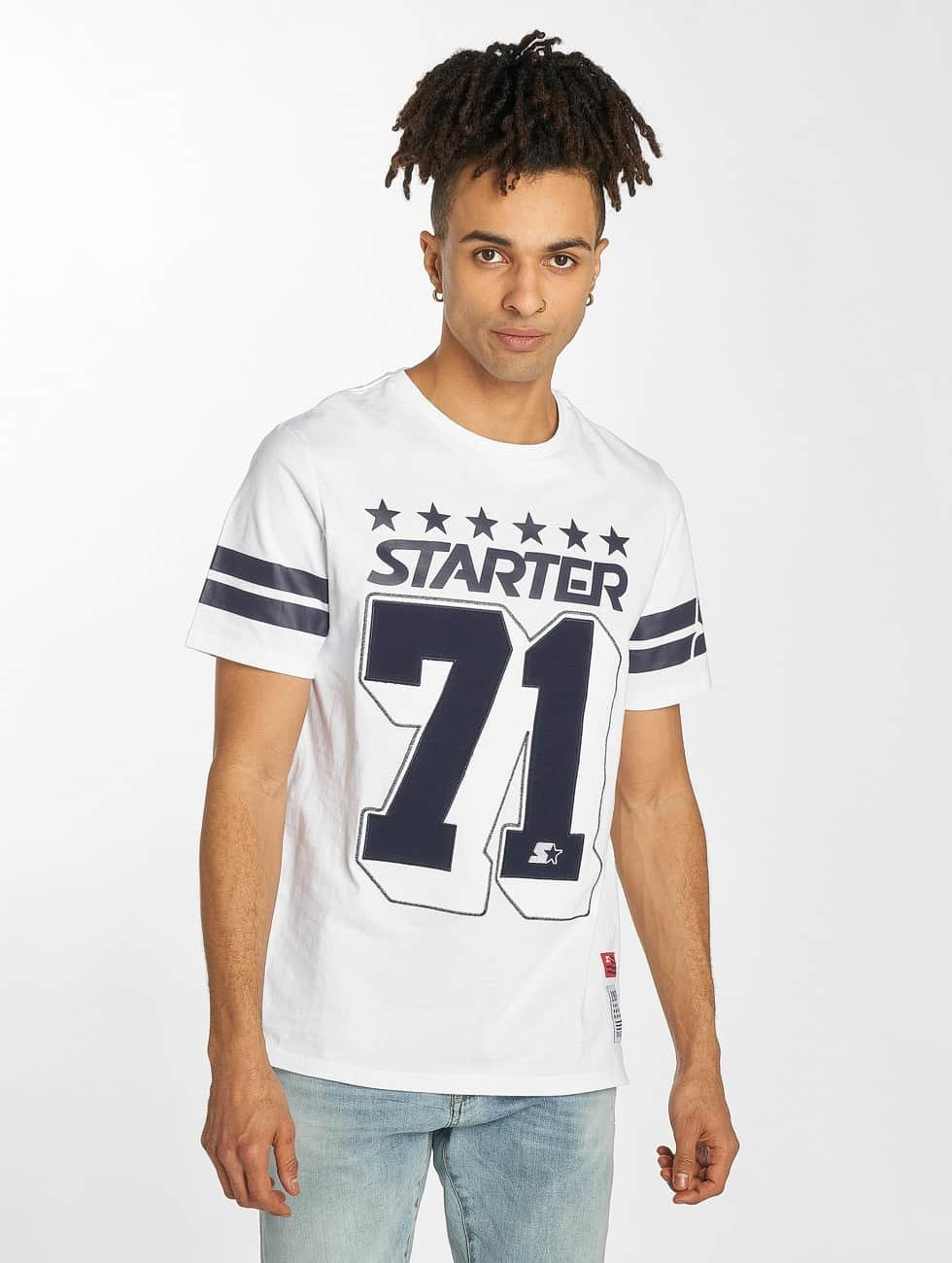Starter T-Shirt Cracraft white