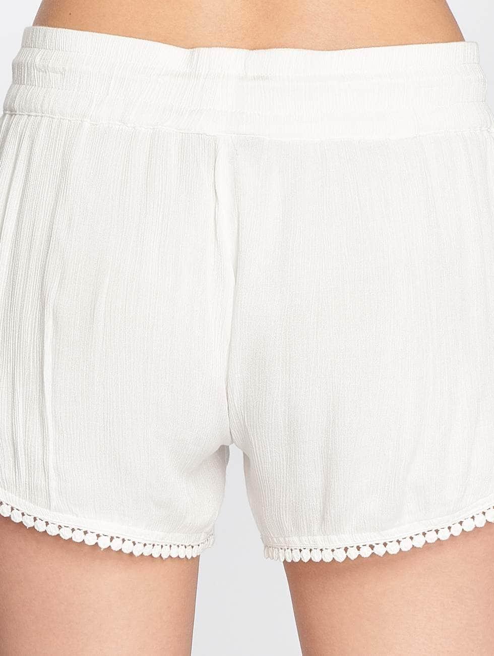 Sublevel Short Lace blanc