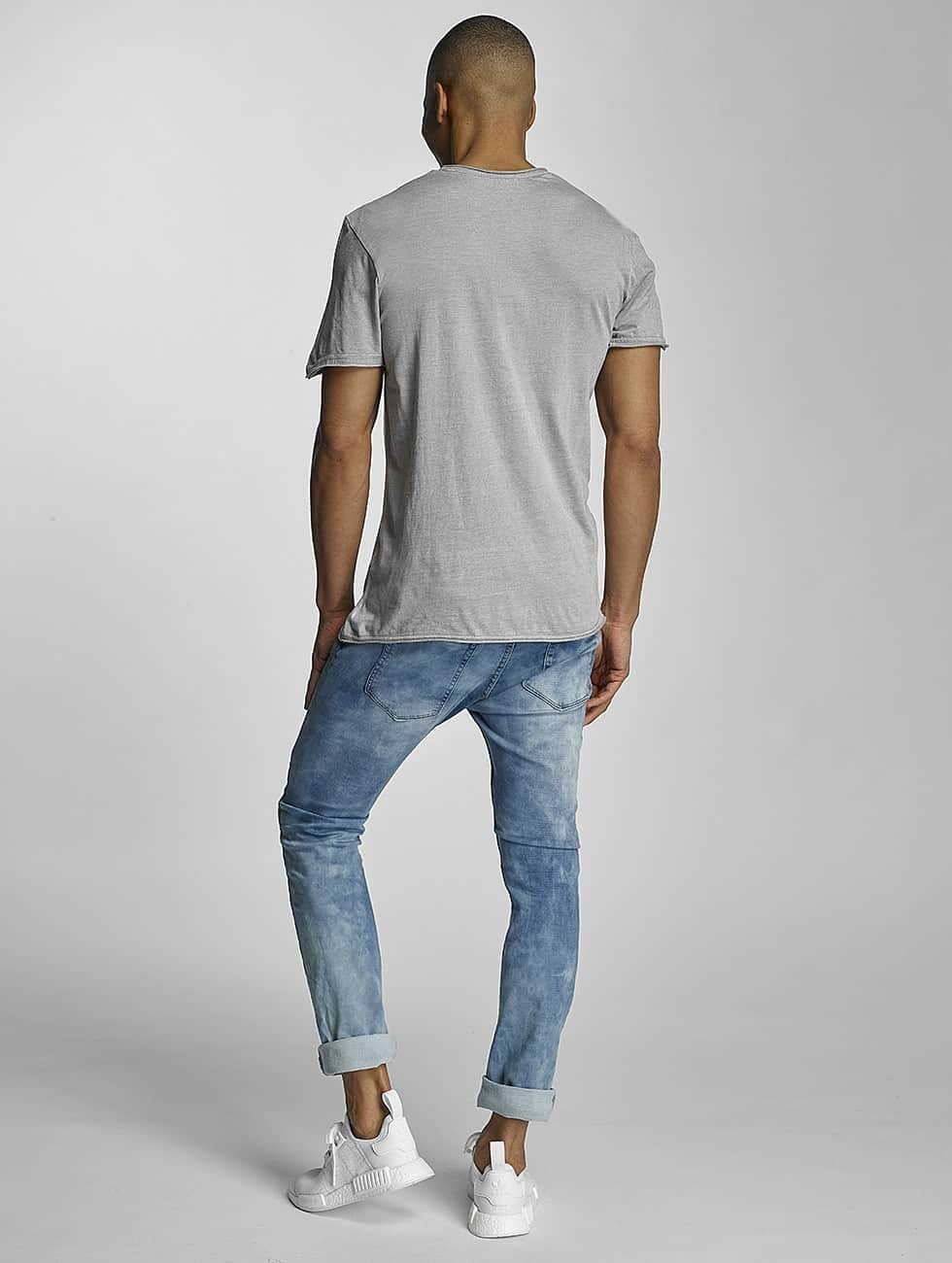 Sublevel T-Shirt Live Your Life gray