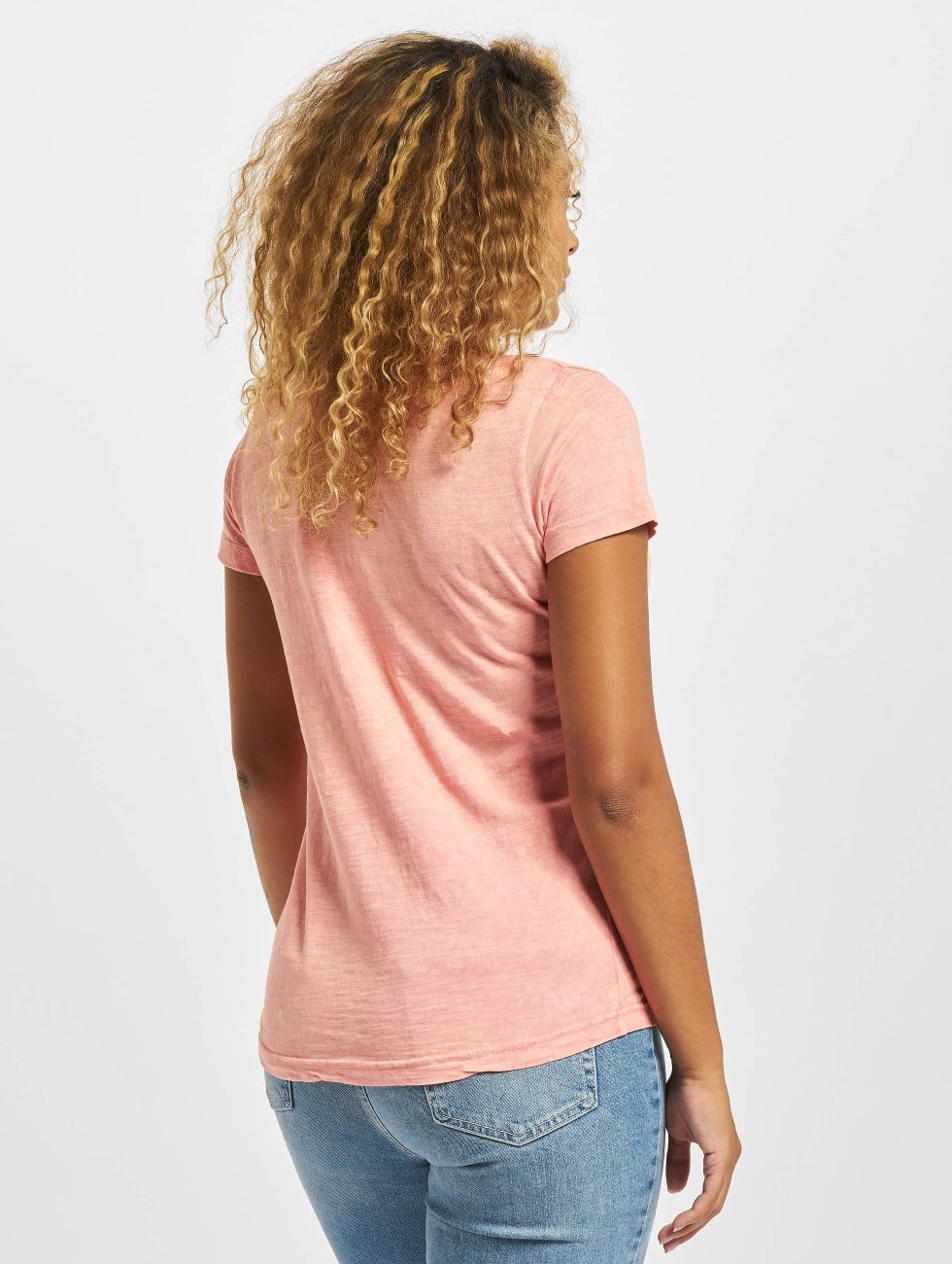 Sublevel T-Shirt Hello magenta