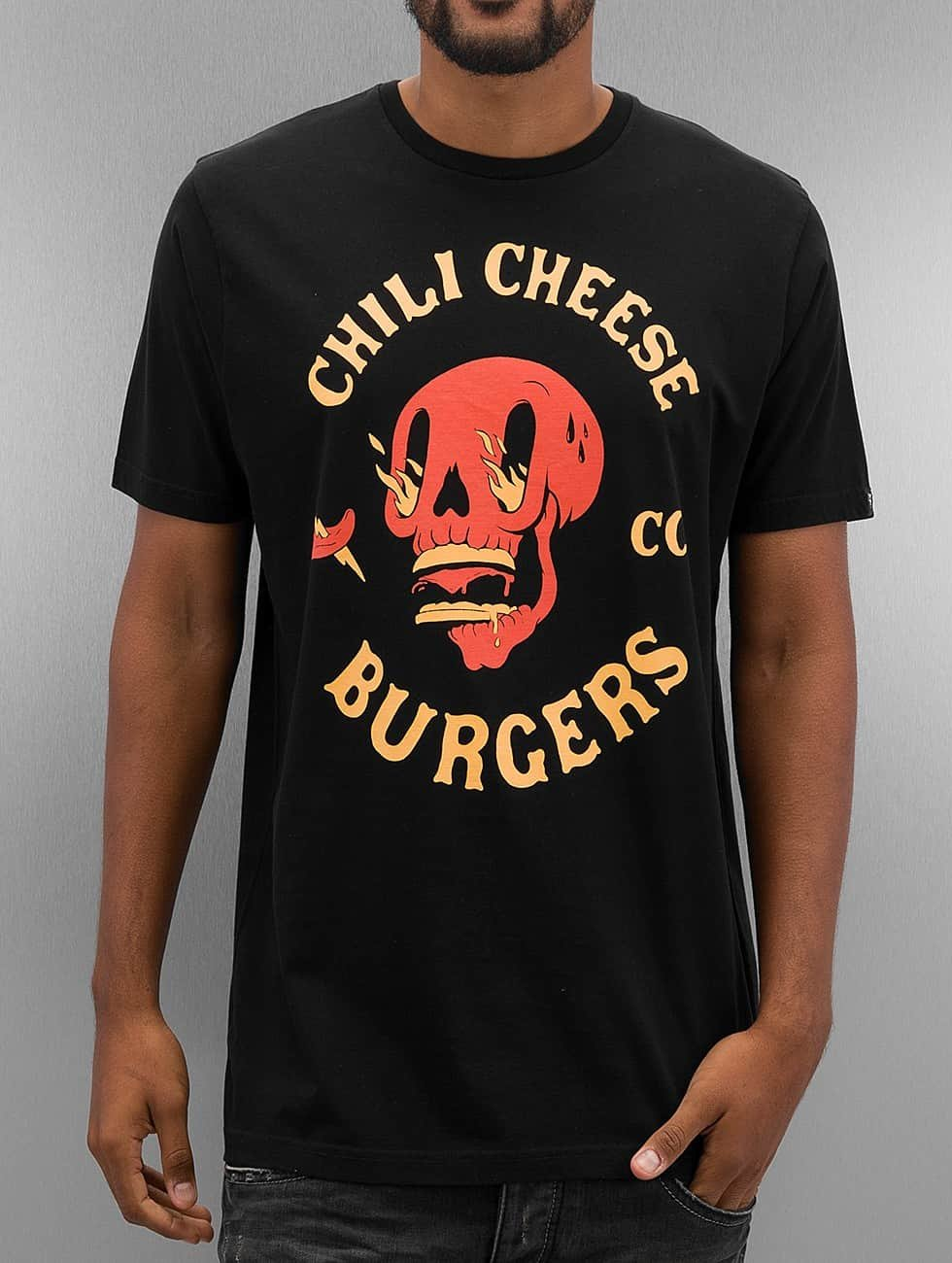 The Dudes t-shirt Chili And Cheese zwart