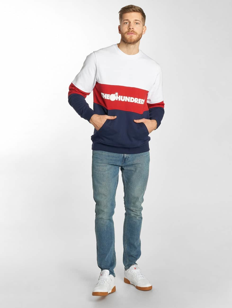 The Hundreds Jumper Channel white